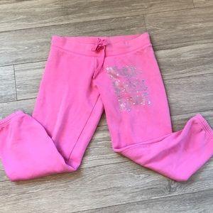 Pink brand sweats